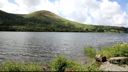 Loweswater and mountains The lakes UK lake District