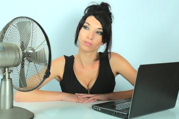chaleur.... bureau