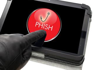 Online phishing concept