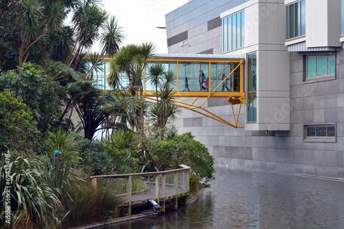Fotobehang Nieuw Zeeland Museum of New Zealand Te Papa Tongarewa