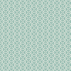 Vector seamless pattern geometric tiles square background