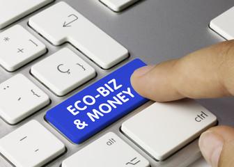 ECO-BIZ & MONEY. Keyboard