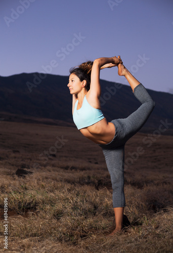 canvas print picture Yoga Woman