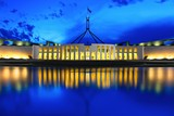 Fototapety Parliament & Blue Hour