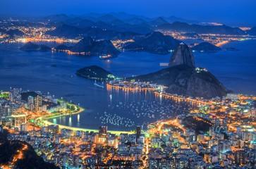View from Corcovado Rio de Janeiro