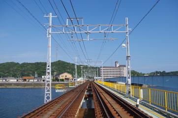 線路と鉄橋