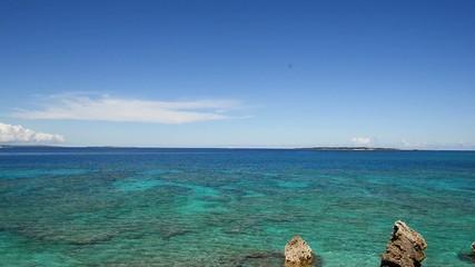 美しいコマカ島の海