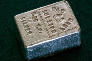 OLD WEST BULLION - 6.05 Troy Ounce Silver Bar