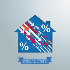 House Hole Downwards Percentage