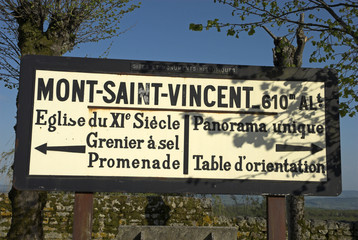 Mont Saint Vincent, 71