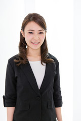 asian businesswoman in the office