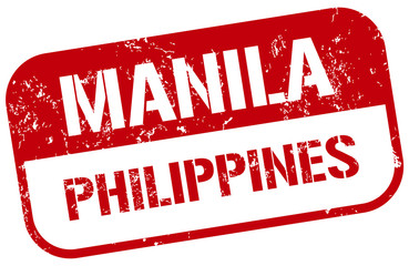 manila philippines stamp