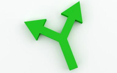 Green Arrow two way