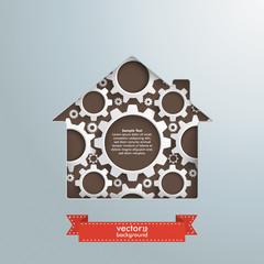 House Hole White Gears