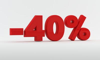 -40% Discount