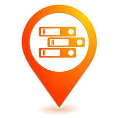 archives sur symbole localisation orange