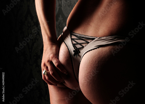 canvas print picture touch my backside