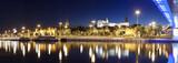 Fototapety Panoramic view of Szczecin (Stettin) City with Pomeranian Dukes
