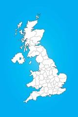 Illustrated Map of the United Kingdom