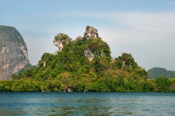 Dog Island or Khao Ma Chu Mountain Phang-Nga Bay, Thailand