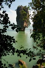 James Bond Island or Ko Tapu at Phang-Nga Bay