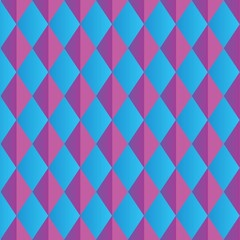Abstract Blue Triangle Background Pattern