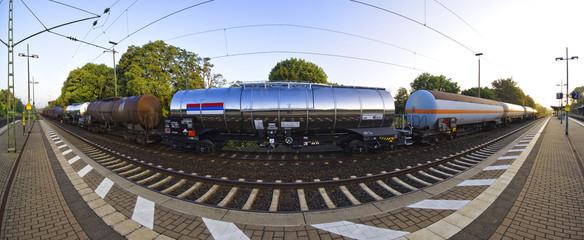 Güterzug Panorama