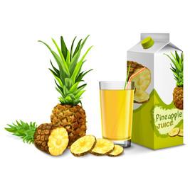Pineapple juice set