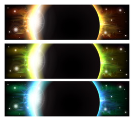 Eclipse banners