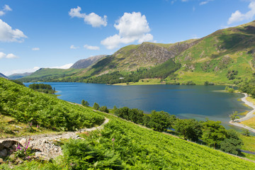 UK Lake District Buttermere The Lakes Cumbria England