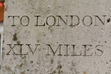 Distance to London 45 miles