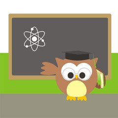 buho profesor de ciencias