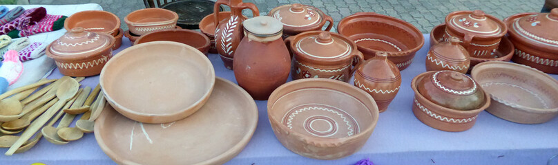 Clay pots sale