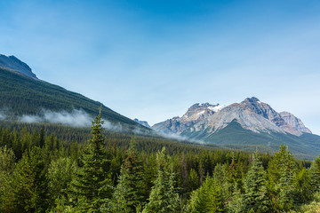 Canadian Rocky mountains in canada