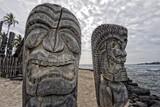 Hawaii Tiki wooden statue