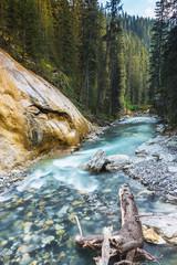 Johnston Canyon river banff canada