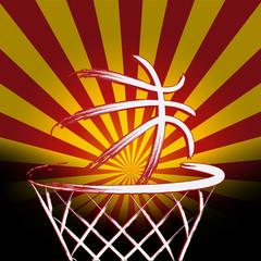 Spanish basket ball, vector