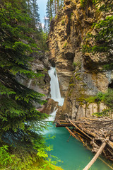 Johnston canyon Lower Falls Canada