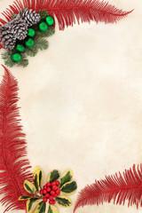 Decorative Christmas Border