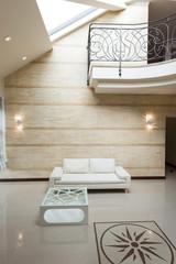 White sofa modern interior