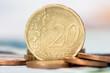 Twenty cents euro coin