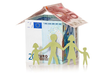 Family and their Euro house