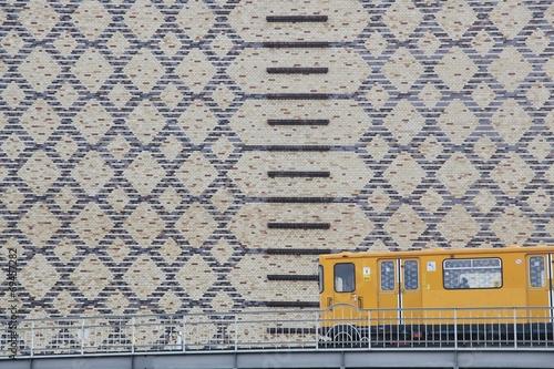 canvas print picture Metro in Berlin