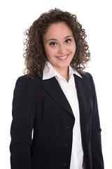 Attraktive junge Geschäftsfrau: Bewerbungsfoto