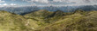 Panorama der Alpen in HDR