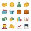 Money Color icon set