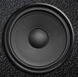 Leinwanddruck Bild - Audio speaker