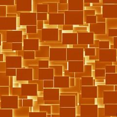 Orange rectangular texture background
