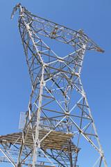 Montage de pylône