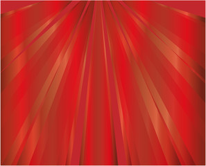 Red rays background